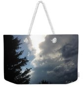 As The Clouds Move Across The Sky Weekender Tote Bag