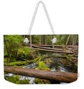 As The Creek Flows Weekender Tote Bag