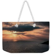 As The Day Ends Weekender Tote Bag