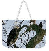 As The Eagle Looks On Weekender Tote Bag