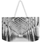 As The Water Fades Grayscale Weekender Tote Bag