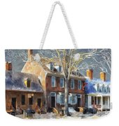 As Winter Melts Into Spring Weekender Tote Bag