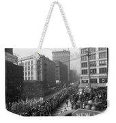 Asahel Curtis, 1874-1941, Draft Parade, Seattle Weekender Tote Bag