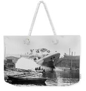 Asahel Curtis, 1874-1941, Launching Of The Minnie A. Cain Weekender Tote Bag