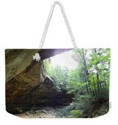 Ash Cave Weekender Tote Bag