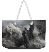 Ash Cloud Eruption On Yasur Volcano Weekender Tote Bag