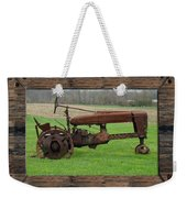 Ashes To Ashes - Rust To Rust Weekender Tote Bag