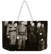 Ashley Pa  Glen Alden Coal Co  Huber Coal Breaker 1962 Weekender Tote Bag