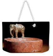 Ashtray With Elefant Weekender Tote Bag