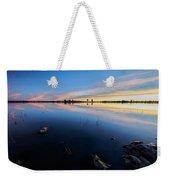 Ashurst Lake Sunrise Weekender Tote Bag