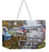 Ashville Bay Marina Weekender Tote Bag