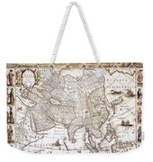 Asia: Map, C1618 Weekender Tote Bag