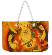 Asian Art Textile Weekender Tote Bag