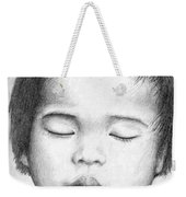 Asian Baby Weekender Tote Bag