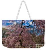 Asian Cherry In Blossom Weekender Tote Bag
