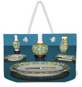 Asian Dining And Vases Weekender Tote Bag