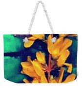 Asian Flower Weekender Tote Bag