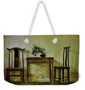 Asian Furniture And Bonsai Weekender Tote Bag