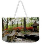 Asian Garden Weekender Tote Bag