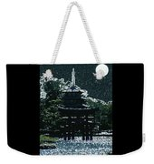 Asian Moon Weekender Tote Bag