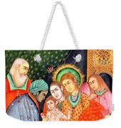 Asian Nativity Weekender Tote Bag