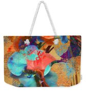 Asian Orchid Abstract Weekender Tote Bag