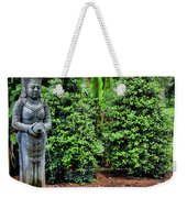 Asian Statue Jefferson Island  Weekender Tote Bag