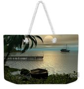 Asian Sunset Scene Weekender Tote Bag