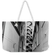 Asian Woman Sitting In Alley Weekender Tote Bag