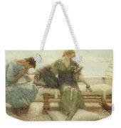 Ask Me No More....for At A Touch I Yield Weekender Tote Bag