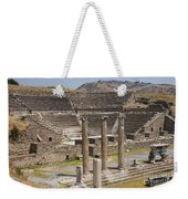 Asklepion Columns And Amphitheatre Weekender Tote Bag