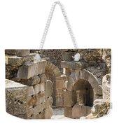 Asklepios Temple Ruins View 3 Weekender Tote Bag