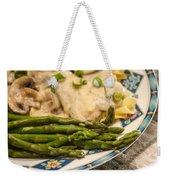 Asparagus And Stroganoff Weekender Tote Bag