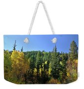 Aspen And Cottonwood In Concert Weekender Tote Bag by Ron Cline