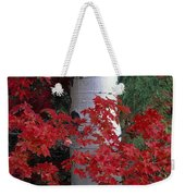 Aspen And Mountain Maple Weekender Tote Bag