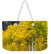 Aspen Fall Weekender Tote Bag