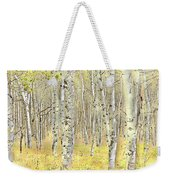 Aspen Forest 2 - Photo Painting Weekender Tote Bag