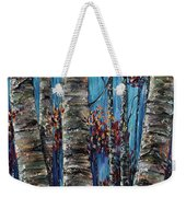 Aspen Forest In The Rocky Mountain Weekender Tote Bag