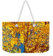 Aspen Glow Autumn Sky Weekender Tote Bag