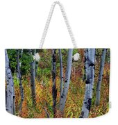 Aspen In Fall Weekender Tote Bag