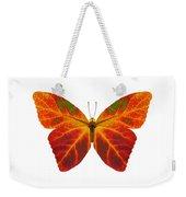 Aspen Leaf Butterfly 2 Weekender Tote Bag