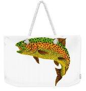 Aspen Leaf Rainbow Trout 1 Weekender Tote Bag