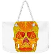 Aspen Leaf Skull 13 Weekender Tote Bag