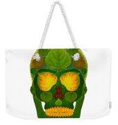 Aspen Leaf Skull 9 Weekender Tote Bag