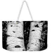 Aspen Tree Art Weekender Tote Bag