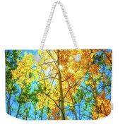 Aspen Trees Weekender Tote Bag