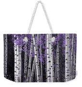 Aspen Trunks Lavender Leaves Weekender Tote Bag
