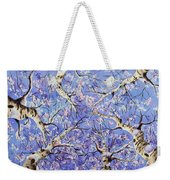 Aspen Winter Wonderland Weekender Tote Bag