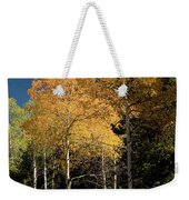 Aspens And Sky Weekender Tote Bag