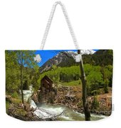 Aspens Around The Crystal Mill Weekender Tote Bag